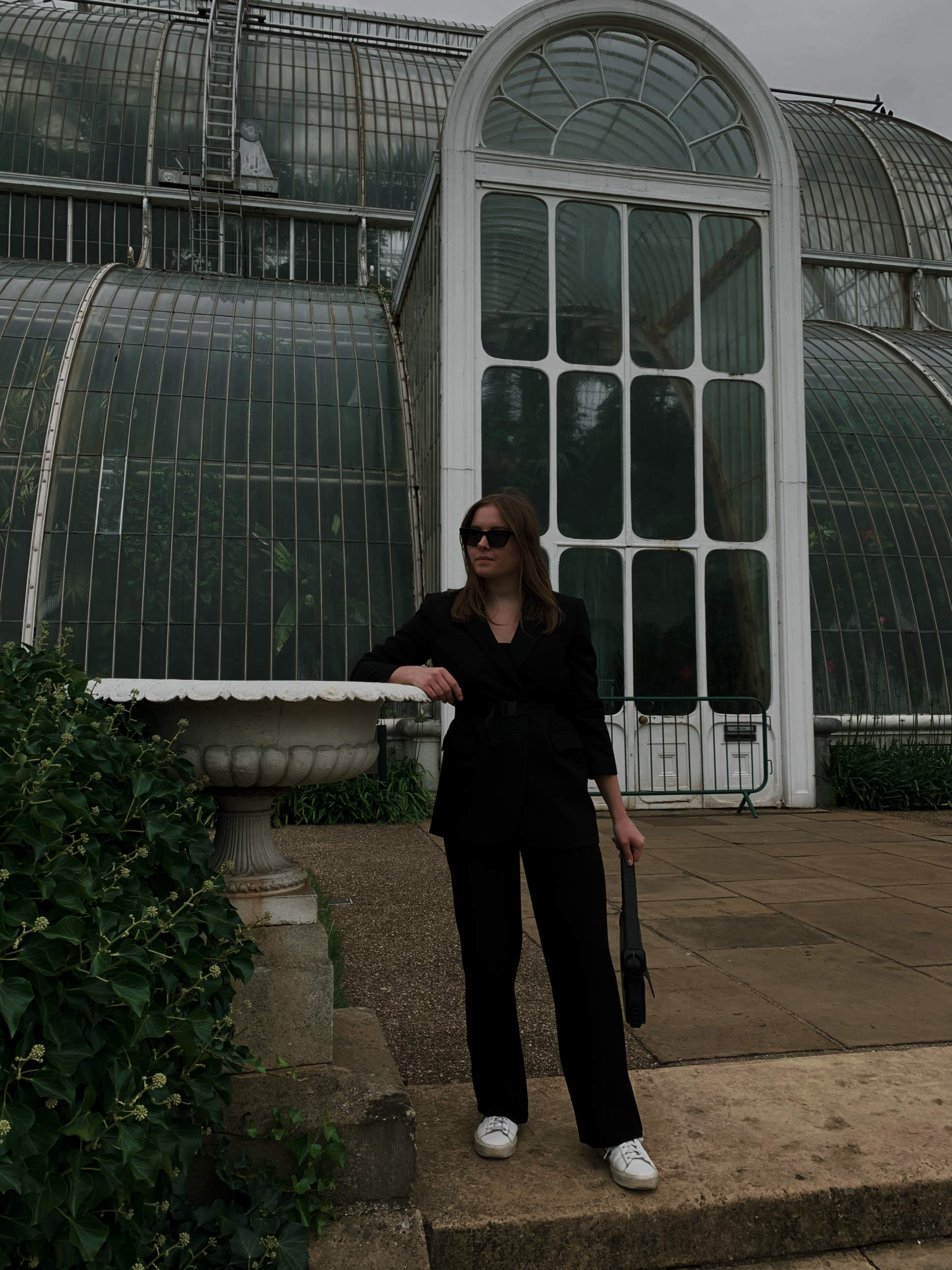 Kew-Gardens-Straight-Leg-Trousers-Blazer-Jacket-Belt-Outfit